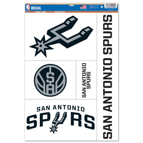 San Antonio Spurs Wincraft Multi Use Decal Set
