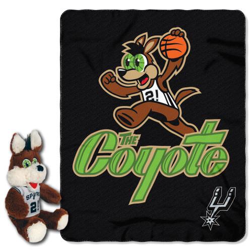 San Antonio Spurs Northwest Coyote Hugger Blanket Set