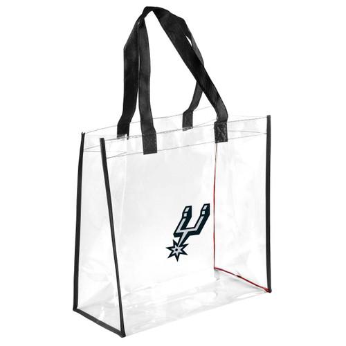 San Antonio Spurs Forever Collectibles Clear Reusable Bag