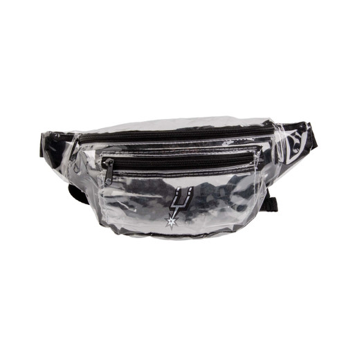 San Antonio Spurs Forever Collectibles Clear Fanny Pack