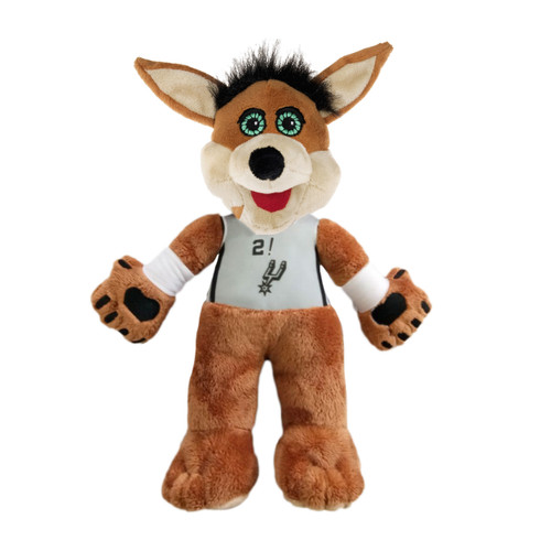 San Antonio Spurs Forever Collectibles 14 Inch Coyote Plush - Statement Jersey