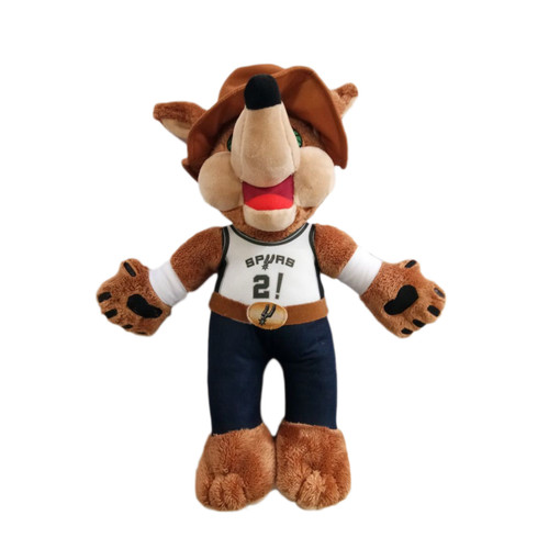 San Antonio Spurs Forever Collectibles 14 Inch Cowboy Coyote Plush
