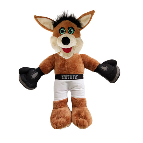 San Antonio Spurs Forever Collectibles 14 Inch Boxer Coyote Plush