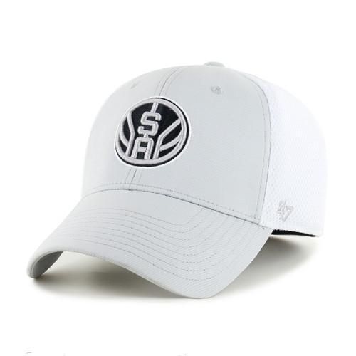 San Antonio Spurs Men's '47 Brand Offense Contender Flexible Fit Hat