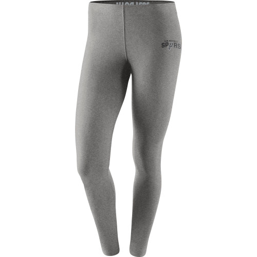 San Antonio Spurs Women's Nike Leg-A-See NBA Tights-Grey