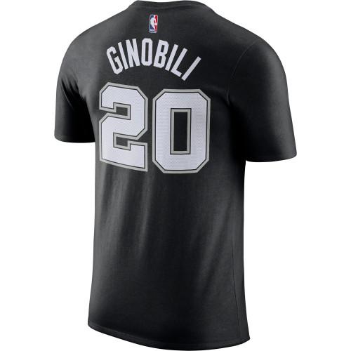 San Antonio Spurs Youth Nike Manu Ginobili Name and Number T-Shirt