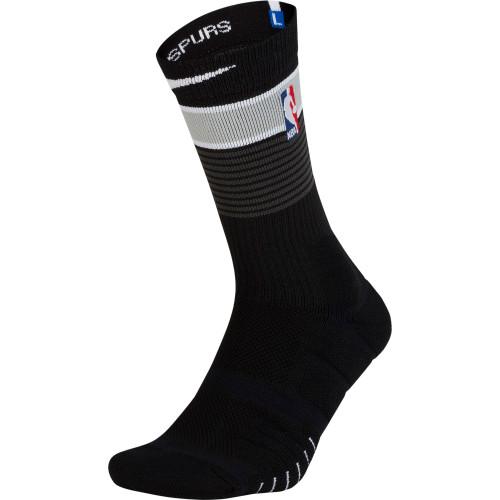 San Antonio Spurs Men's Nike Ultra Elite Quick Basketball Socks - City Edition