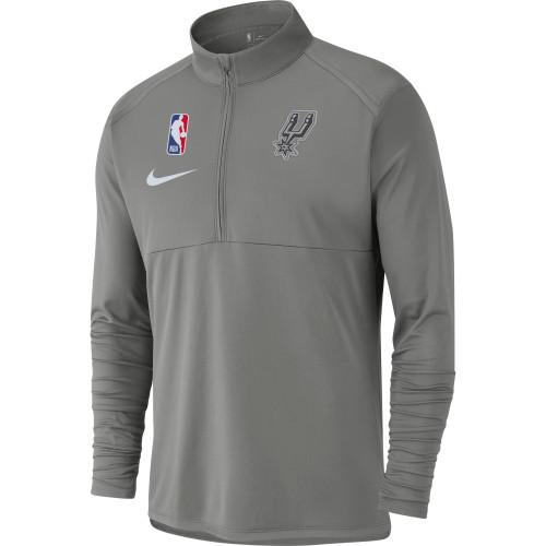 San Antonio Spurs Men's Nike 1/4 Zip Pull Over