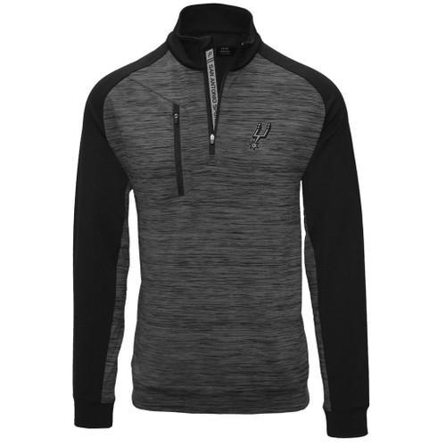 San Antonio Spurs Men's Levelwear Rampart 1/4 ZIP Pullover