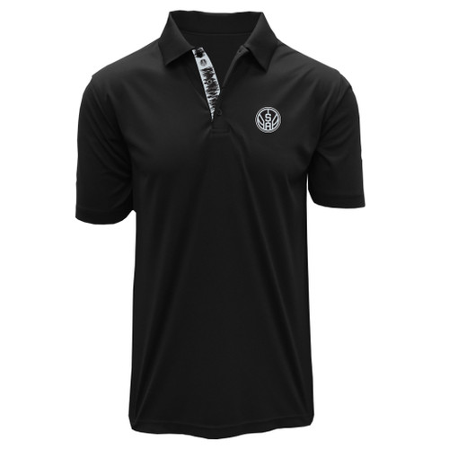 San Antonio Spurs Men's Levelwear Dwayne Polo Secondary Logo
