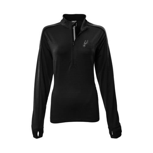 San Antonio Spurs Women's Levelwear Pacer 1/4 Zip Pullover