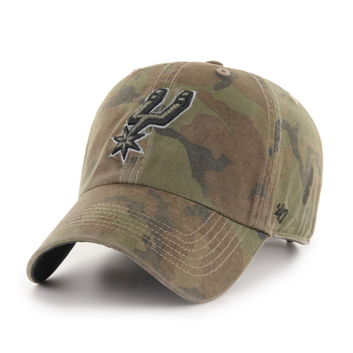 San Antonio Spurs Men's '47 Brand Clean Up Sector Hat
