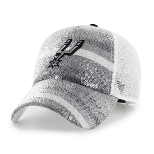 San Antonio Spurs Women's '47 Brand Sequin Sunrise MVP Hat