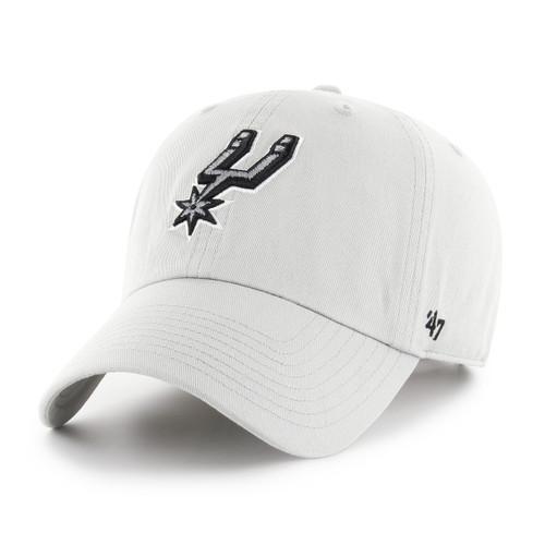 San Antonio Spurs Men's '47 Brand Clean Up Hat -Gray
