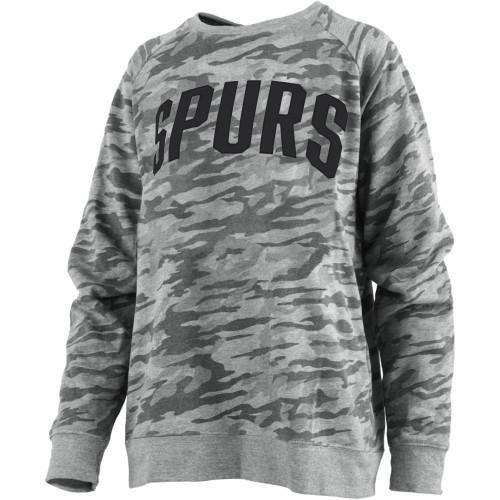 San Antonio Spurs Women's Pressbox Gulfport Crew Neck Sweatshirt