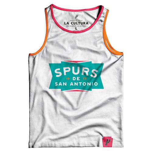 San Antonio Spurs La Cultura Collection Women's Tank Top