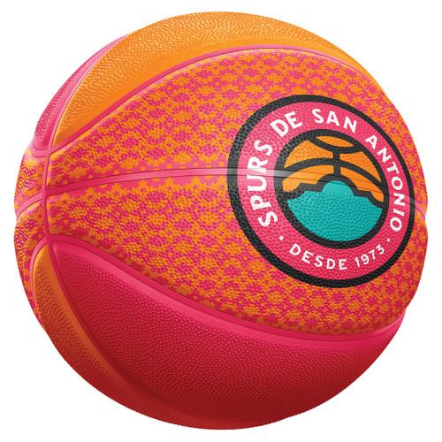 San Antonio Spurs La Cultura Collection Mini Basketball