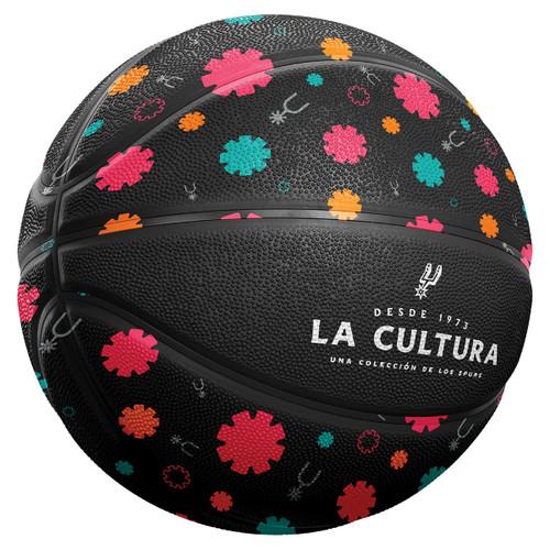 San Antonio Spurs La Cultura Collection Full Size Basketball