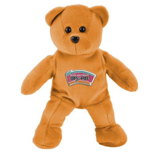 San Antonio Spurs Forever Collectibles Orange Plush Bear