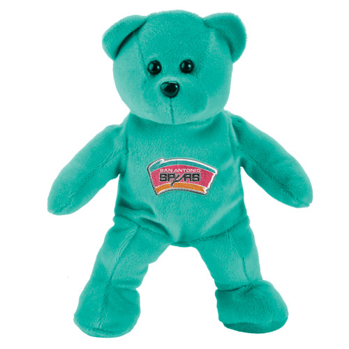 San Antonio Spurs Forever Collectibles Teal Plush Bear