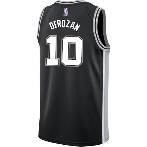 San Antonio Spurs Men's Nike Icon DeMar DeRozan Jersey