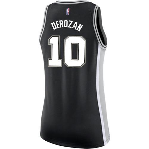 San Antonio Spurs Women's Nike  Icon DeMar DeRozan Jersey