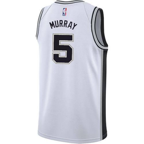 San Antonio Spurs Men's Nike Association Dejounte Murray Jersey