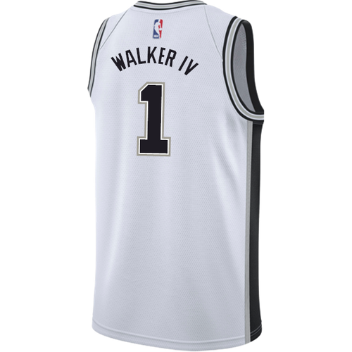 San Antonio Spurs Men's Nike Association Lonnie Walker IV Jersey