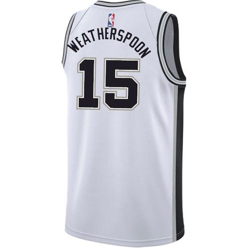 San Antonio Spurs Men's Nike Association Quinndary Weatherspoon Jersey