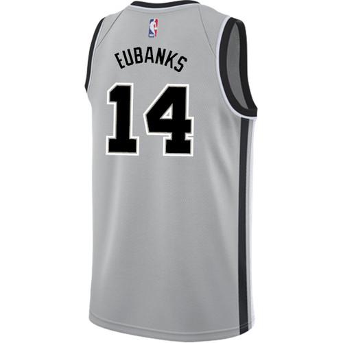 San Antonio Spurs Men's Nike Statement Edition Drew Eubanks Jersey