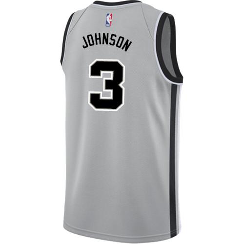 San Antonio Spurs Men's Nike Statement Edition Keldon Johnson Jersey