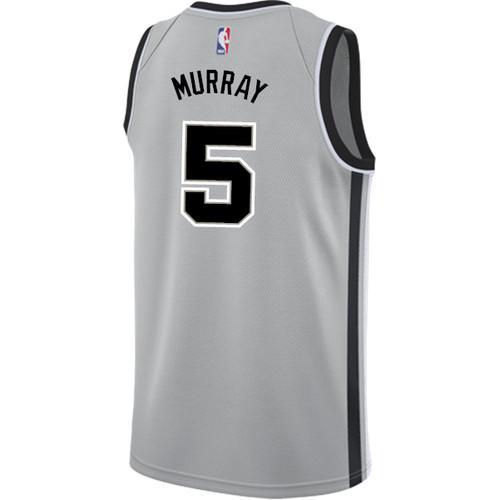 San Antonio Spurs Men's Nike Statement Edition Dejounte Murray Jersey