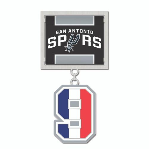 San Antonio Spurs WinCraft Tony Parker #9 Fiesta Medal
