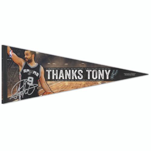 San Antonio Spurs WinCraft Tony Parker Premium Quality Pennant