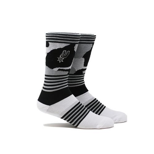 San Antonio Spurs Men's PKWY Camo Socks