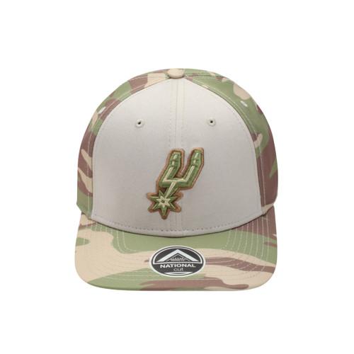 San Antonio Spurs Men's Already Design National Camo Adjustable Hat