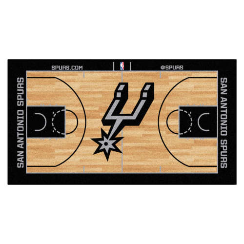 San Antonio Spurs FanMats NBA Court Large Runner