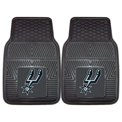 San Antonio Spurs FanMats 2-pc Vinyl Car Mat Set