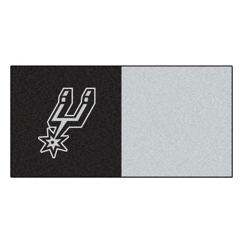San Antonio Spurs FanMats Team Carpet Tiles