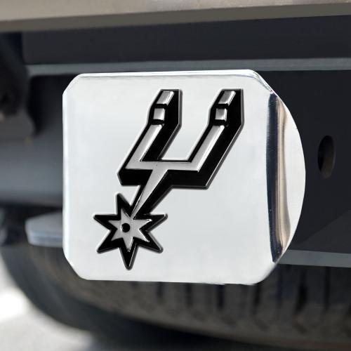San Antonio Spurs FanMats Chrome Hitch - Chrome