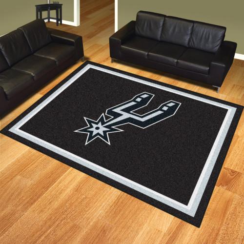 San Antonio Spurs FanMats 8x10 Rug
