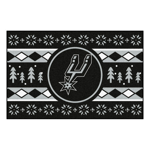 San Antonio Spurs FanMats Holiday Sweater Starter Mat