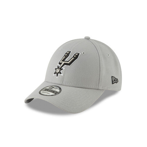 San Antonio Spurs Men's New Era 9Forty Free Throw Snap Back Hat - Gray
