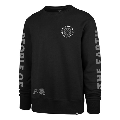San Antonio Spurs X Patty Mills X Tap Pilam Men's Crew Neck Sweatshirt