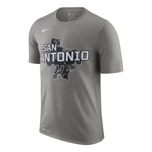 San Antonio Spurs Men's Nike City Edition Dri-Fit T-Shirt