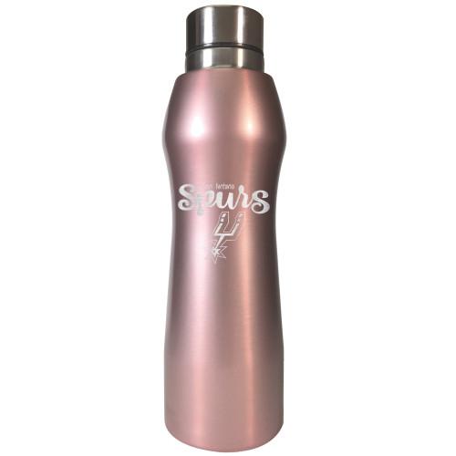 San Antonio Spurs Great American 20oz Rose Gold Hydration Bottle