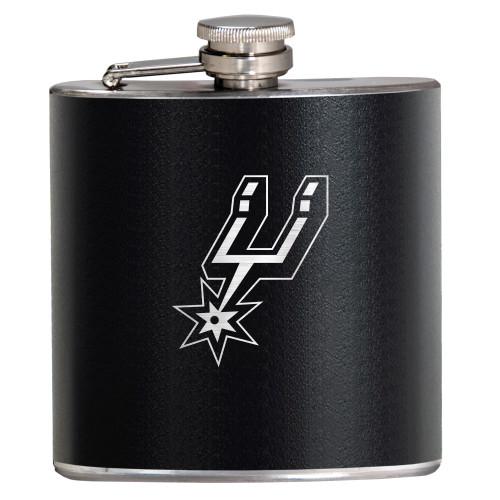 San Antonio Spurs Great American 6oz Stealth Hip Flask