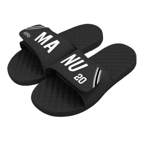San Antonio Spurs iSlide Manu Ginobili Name and Number Sandals