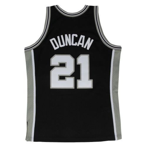 San Antonio Spurs Men's Mitchell and Ness Tim Duncan Swingman Jersey