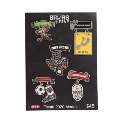 Spurs Give 2019-20 Fiesta Medal 5 Pack